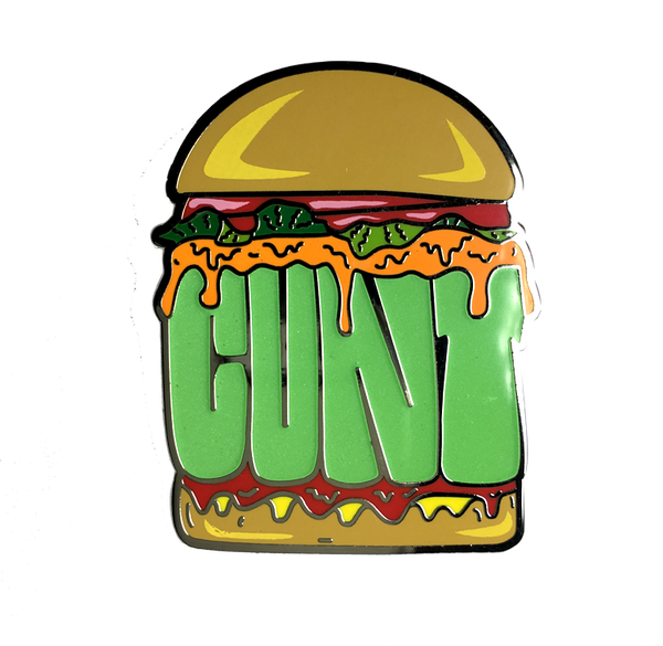 Cunt Burger Pin (Glow in the Dark)