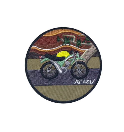 Psychedelic Moto Patch