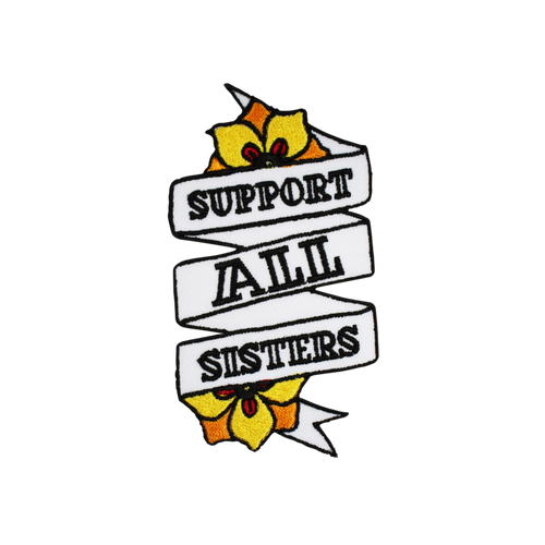 Support All Sisters Patch