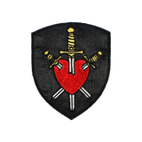 Three of Swords Heart Patch