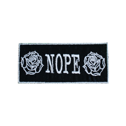 Nope Rose Patch