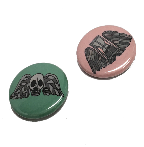 Tombstone Button Pack