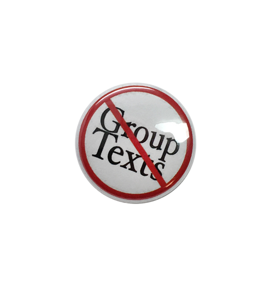Group Texts Button