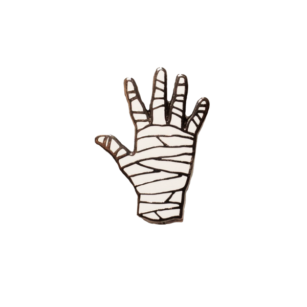 Mummy Hand Pin