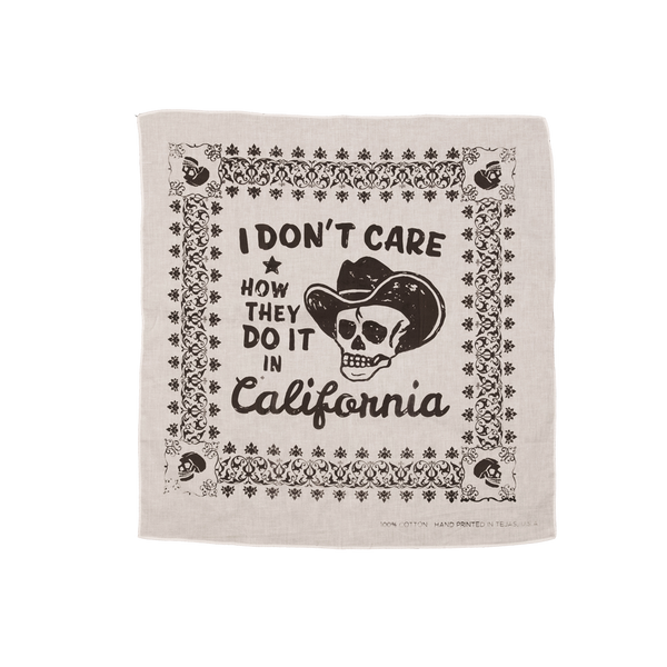 Don't Care Bandana