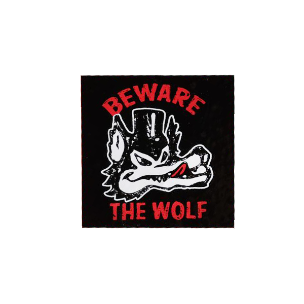 Beware the Wolf Sticker