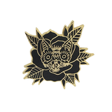 Bat Rose Pin