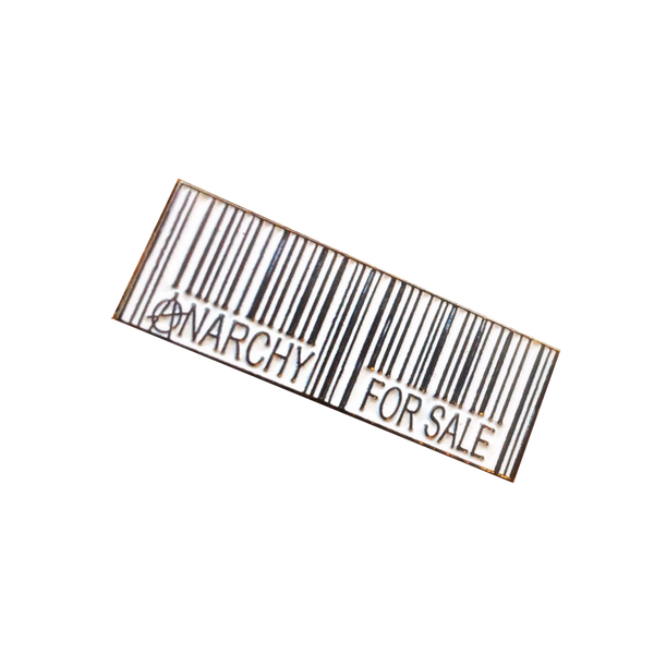 Anarchy For Sale Pin