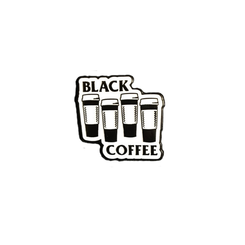 Black Coffee Pin