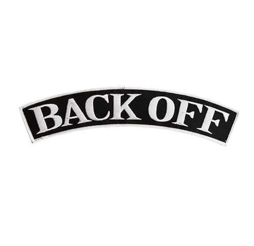 Back Off Rocker Patch