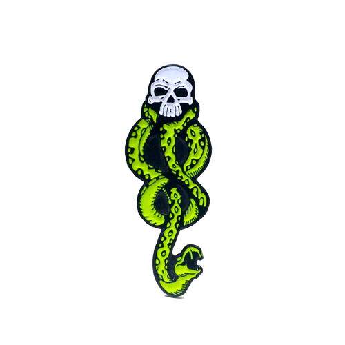 Death Eaters Pin (Glow in the Dark)