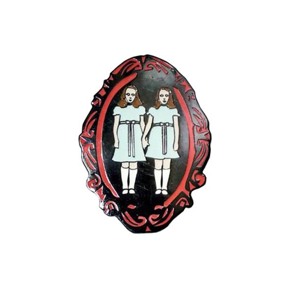 Grady Twins Brooch Style Pin (Glows in the dark!)