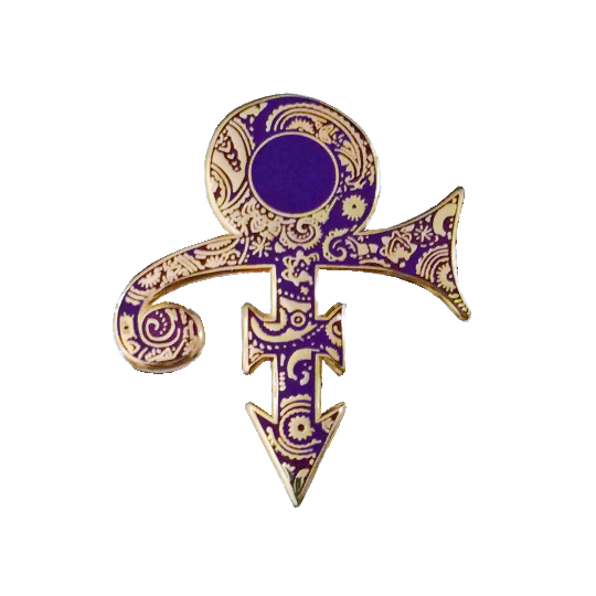 Prince Tribute Pin