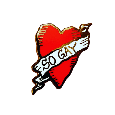 Gay as Hell Pin