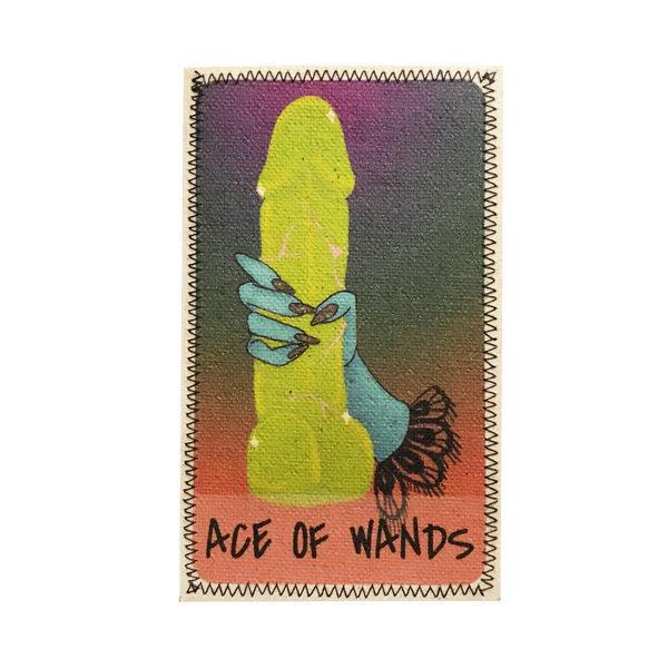 Ace of Wands Penis Patch