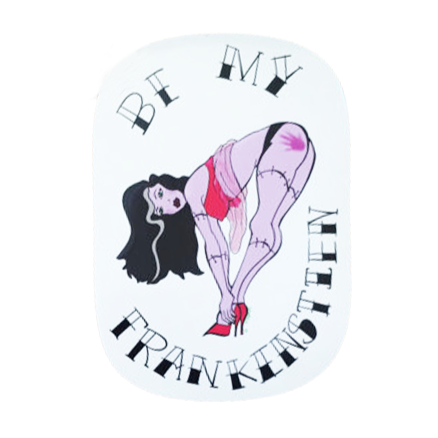 Be My Frankenstein Sticker