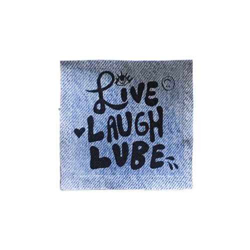 Live Laugh Lube Patch