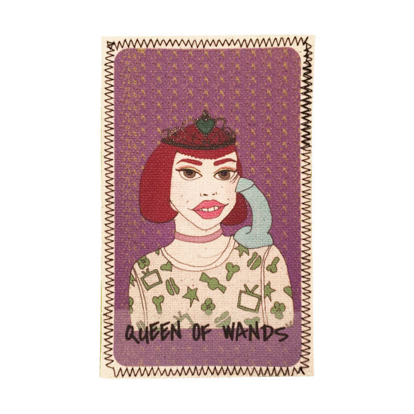 Queen of Wands Penis Patch