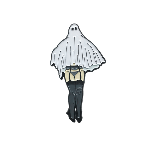 Ghosty Gal Pin