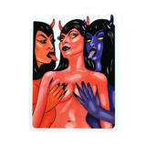 Demon Babes Sticker