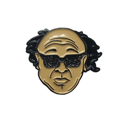 Frank Reynolds in Sunglasses Pin