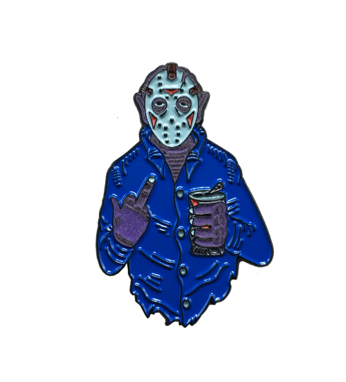 "Jason ""Fuck You"" Voorhees Pin"