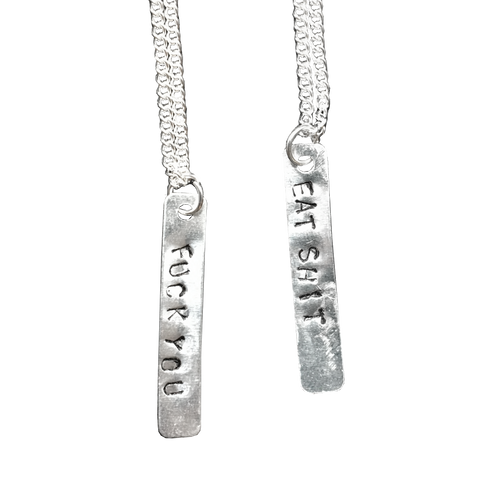 Lowbrow Vertical Necklaces