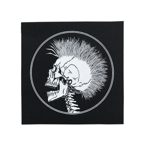 Mohawk Skull Patch