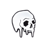 Dripping Skull Pin