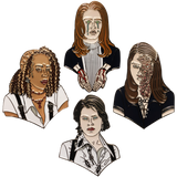 Bitches of Eastwick Pin Set