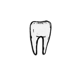 Tooth Pins (Glow in the Dark!)