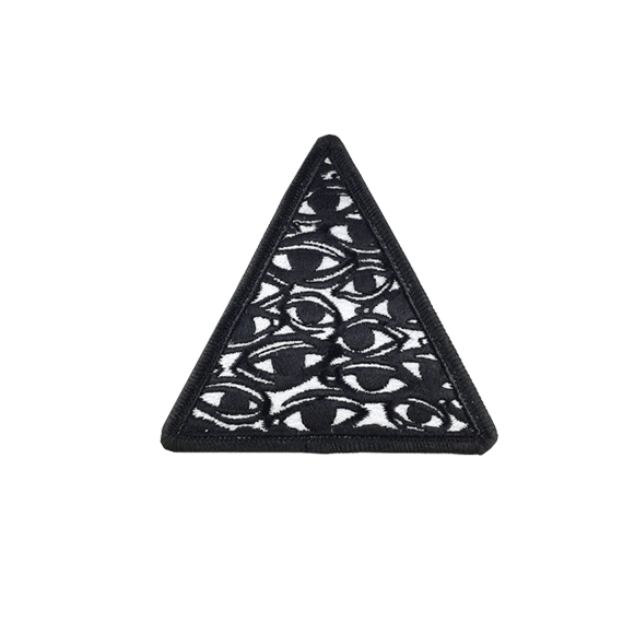 All Over Eyes Triangle Patch
