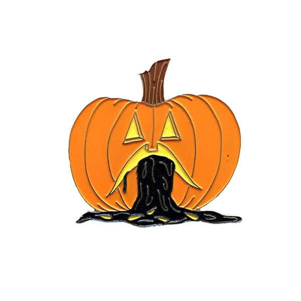 Puking Pumpkin Pin