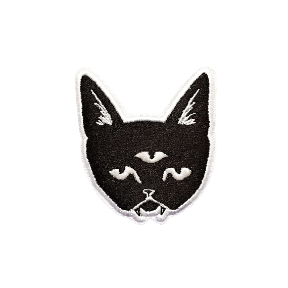Three Eyed Cat Patch (Glow in the dark)