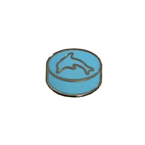 Blue Dolphin Pin