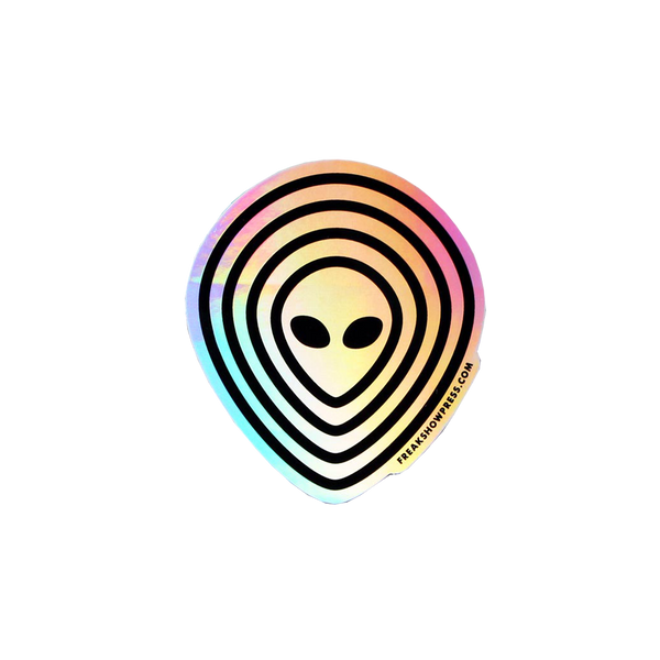 Alien Holographic Sticker Pack