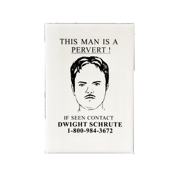 Dwight Schrute Pervert Hunter Magnet