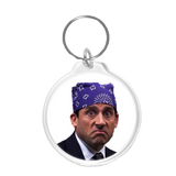 Prison Mike Keychain