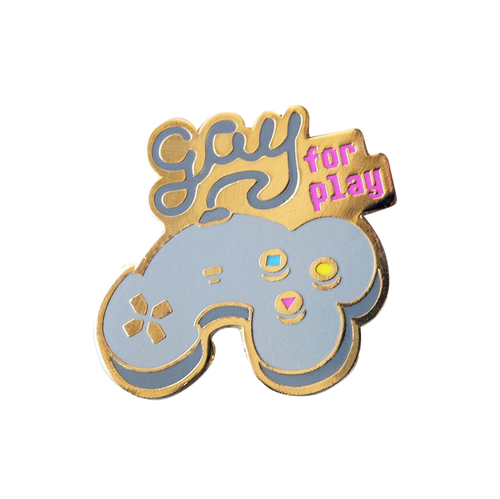 Gay for Play Pin