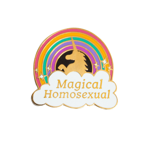 Magical Homosexual Pin
