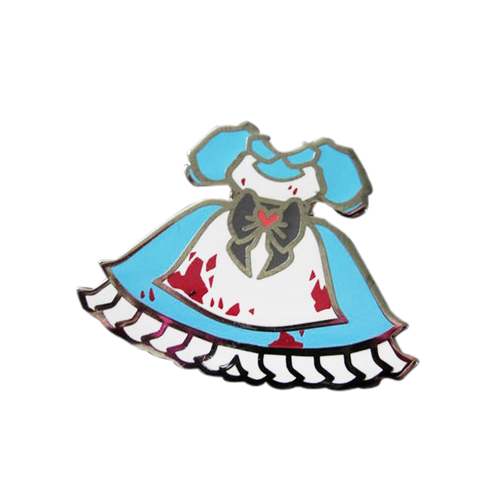 Alice in Wonderland Bloody Dress Pin