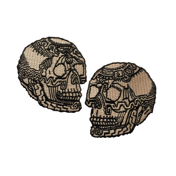 Ceremonial Skull Patch Set