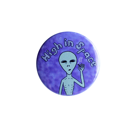 I Miss Drugs Pin