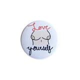 Love Yourself Button
