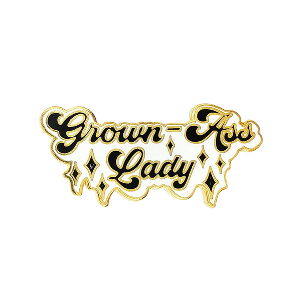 Grown-Ass Lady Pin