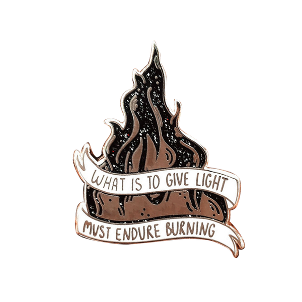 Burning Flame Pin