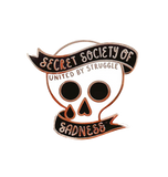 Secret Society of Sadness Pin
