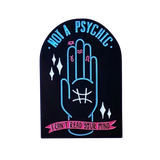 Not a Psychic Pin