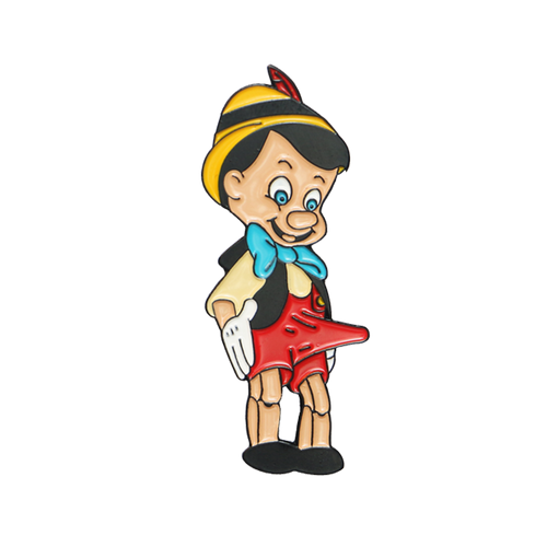 Lying Pervert Pinocchio Pin