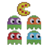 Ninja Turtle Pac-Man Pin Set